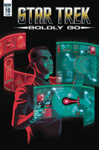 Image: Star Trek: Boldly Go #10 (cover A - Caltsoudas) - IDW Publishing