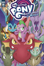 Image: My Little Pony: Friendship Is Magic #56 (cover A - Garbowska) - IDW Publishing