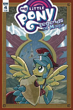 Image: My Little Pony: Legends of Magic #4 (cover A - Hickey) - IDW Publishing