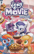 Image: My Little Pony: The Movie Prequel #2 (incentive cover - Kaori Matsuo) (10-copy)  [2017] - IDW Publishing