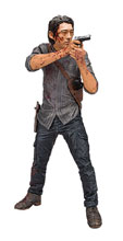 Image: Walking Dead TV Glenn Legacy Edition 10-inch deluxe Action Figure Case  - Tmp Toys / Mcfarlane's Toys