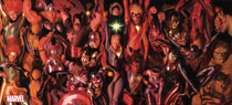 Image: Generations by Alex Ross Oversized Vinyl Poster  - Marvel Comics