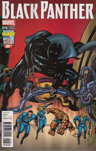 Image: Black Panther #16 (variant cover - Kirby 100th) - Marvel Comics