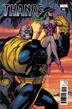 Image: Thanos #9 (variant X-Men Card cover - Jim Lee) - Marvel Comics