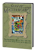 Image: Marvel Masterworks: Incredible Hulk Vol. 11 HC  (variant DM cover - Gil Kane) (252) - Marvel Comics