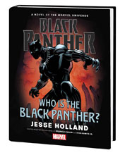 Image: Black Panther: Who Is the Black Panther? Prose Novel HC  - Marvel Comics