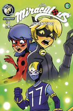Image: Miraculous Adventures #1 (cover A - Hess) - Action Lab Entertainment