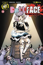 Image: Dollface #7 (cover F - Turner Pin-Up Tattered & Torn) - Action Lab - Danger Zone