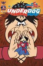 Image: Underdog #2 (variant Giant Galvan cover - Bill Galvan) - American Mythology Productions