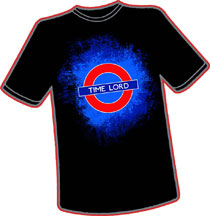 Image: Time Lordin Underground T-Shirt  (M) - Antarctic Press