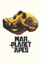 Image: War for the Planet of the Apes #1 (subscription cover - Shaw) - Boom! Studios