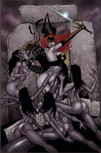 Image: Tarot: Witch of the Black Rose #105 (2-cover set) - Broadsword Comics