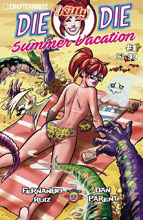 Image: Die, Kitty! Die! - Hollywood or Bust Summer Special #1 (cover B - Ruiz) - Chapterhouse Comics