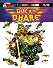 Image: Bucky O'Hare Coloring Book SC  - Continuity