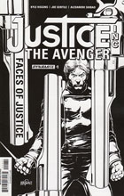 Image: Justice Inc. The Avenger #1 (Mandrake b&w incentive cover - 01031) (10-copy) - Dynamite