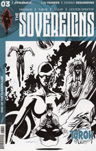 Image: Sovereigns #3 (Burnett b&w incentive cover - 03051) (10-copy) Incv) - Dynamite