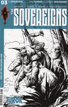 Image: Sovereigns #3 (Desjardins b&w incentive cover - 03061) (20-copy) Incv) - Dynamite