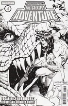 Image: Greatest Adventure #4 (Morales b&w incentive cover - 04051) (20-copy) - Dynamite