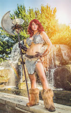 Image: Red Sonja Vol. 04 #7 (Cosplay virgin incentive cover - 07061) (10-copy) - Dynamite