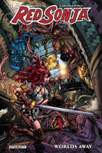 Image: Red Sonja: Worlds Away Vol. 01 SC  - Dynamite