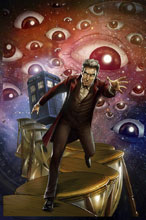 Image: Doctor Who: Ghost Stories #4 (cover C - Centurion) - Titan Comics