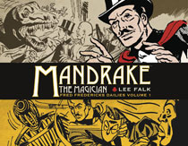 Image: Mandrake the Magician: Fred Frederick's Dailies Vol. 01 HC  - Titan Comics