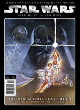 Image: Star Wars: A New Hope Official Collector's Edition SC  (newsstand cover) - Titan Comics