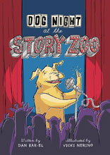 Image: Dog Night at the Story Zoo GN  - Tundra Books