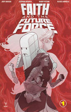Image: Faith and the Future Force #1 (Sauvage incentive cover - 00141) (10-copy) - Valiant Entertainment LLC