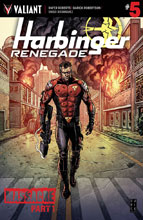 Image: Harbinger: Renegade #5 (cover A - Robertson) - Valiant Entertainment LLC