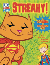 Image: DC Super Pets: Streaky - Origin of Supergirl's Cat  - Capstone Press