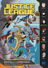 Image: Justice League: Amazo and the Planetary Reboot SC  - Stone Arch Books