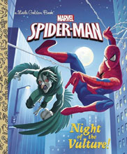 Image: Spider Man Little Golden Book: Night of Vulture  - Random House Books For Young R
