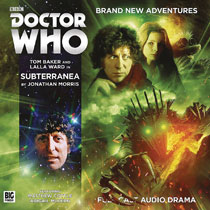 Image: Doctor Who 4th Doctor Adventure Audio CD: Subterranea  - Big Finish