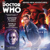 Image: Doctor Who Audio CD: Shadow Planet World Apart  - Big Finish