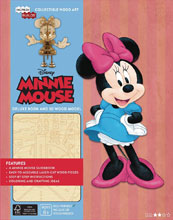 Image: Incredibuilds: Minnie Mouse Deluxe Model  (w/Book) - Insight Editions