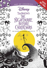 Image: Art of Coloring Tim Burton's Nightmare Before Christmas SC  - Disney Editions