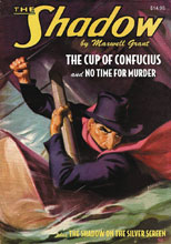 Image: Shadow Double-Novel Vol. 120: Cup of Confucius & No Time for Murder SC  - Sanctum Productions
