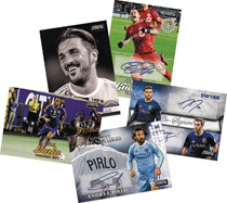 Image: Topps 2017 Stadium Club MLS Card Box  - Topps Company