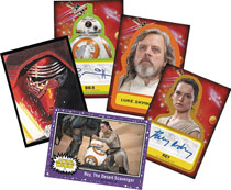 Image: Topps 2017 Star Wars: Journey to Episode 8 Card Box  - Topps Company