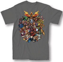Image: Dota T-Shirt: Strength [Charcoal]  (S) - Mighty Fine