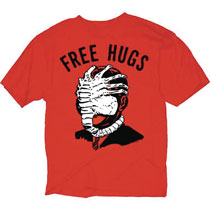 Image: Alien T-Shirt: Free Hugs [Red]  (XL) - Changes