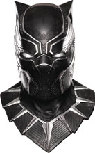 Image: Marvel Black Panther Adult Costume Cowl Mask  - Rubies Costumes Company Inc