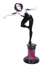 Image: Marvel Premier Collector Statue: Spider-Gwen Masked  - Diamond Select Toys LLC