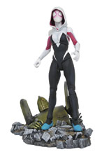 Image: Marvel Select Action Figure: Spider-Gwen  - Diamond Select Toys LLC