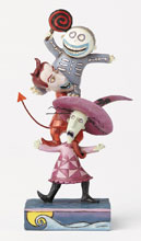 Image: Disney Traditions Figure: Nightmare Before Christmas - Lock Shock and Barrel 2  - Enesco Corporation