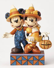 Image: Disney Traditions Figure: Mickey & Minnie Candy Corn  - Enesco Corporation