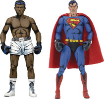 Image: Superman vs. Muhammad Ali Action Figure Set  - Neca