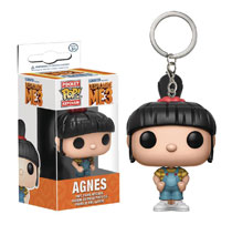 Image: Pocket POP! Despicable Me 3 Figure Keychain: Agnes  - Funko