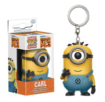 Image: Pocket POP! Despicable Me 3 Figure Keychain: Carl Minions Suit  - Funko
